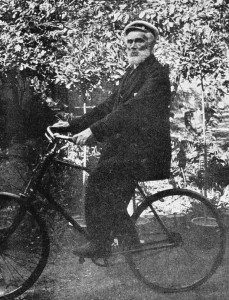 Alter Radfahrer 1905