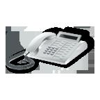 Telefonapparat (Microsoft Clip Art)