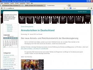 Alter Bildschirm-Schnappschuss Ronalds Notizen