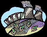 Atomkraftwerk (Microsoft Clip Art)