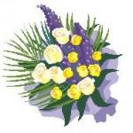 Ein Strauß Blumen (Microsoft Clip Art)