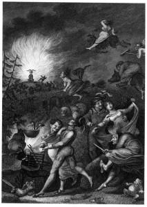 Kupferstich Walpurgisnacht