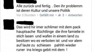 Beispiele für schlechte Deutschkenntnisse