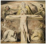 William Blake: Christ Nailed to the Cross