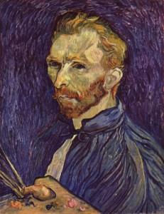 Porträt Vincent von Gogh