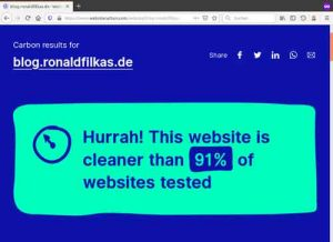 Carbon result